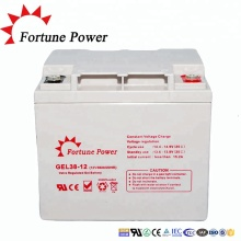 CE MSDS certified 6fm38 12v38ah lead acid battery