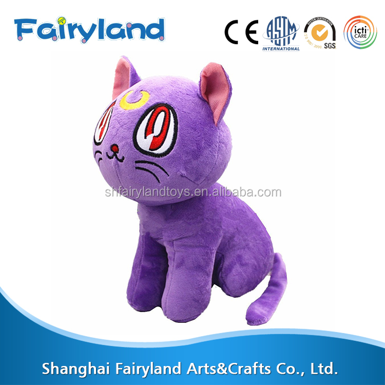 Most popular products china Sailor Moon cat plush toys most selling product in alibaba