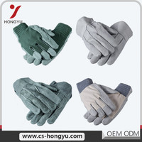 Wholesale Anti Cut Protecting Heavy Duty Winter Leather Safety Work Glove