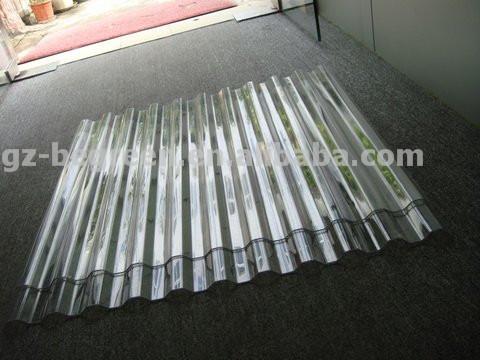 Plastic Polycarbonate Pc 100 Clear Corrugated Plastic New