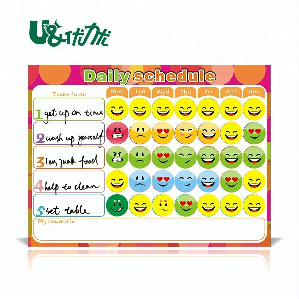 Magnetic Reward Behavior Chart For Children