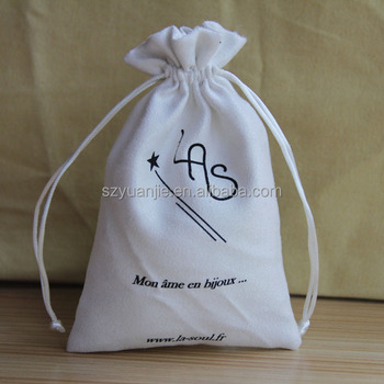 new wholesale Cotton canvas Pull String Packaging Pouch