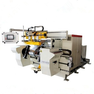 Automatic Reactor Foil Coil Winding Machine with Double Servo
