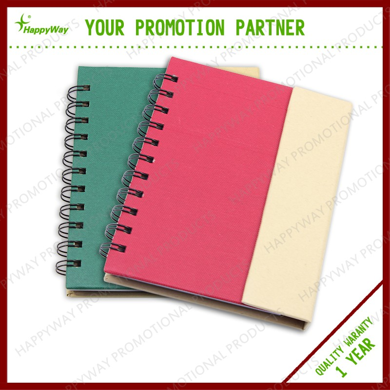 Promotional Sticky NotesMemo Pad Book With Pen Gift Set
