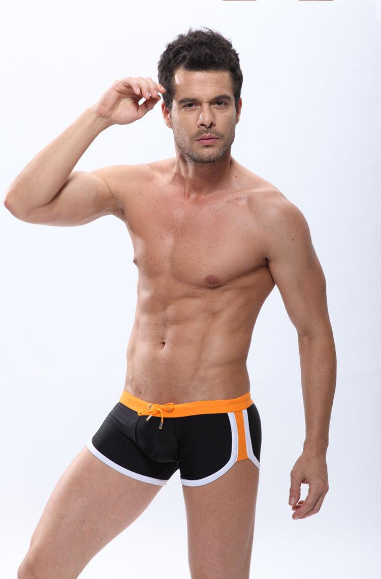 Corto Playa Traje Hombre Pantalones Niños Marca Atractivo Baño De Para Hombres Sólidos 2017 USzMVp