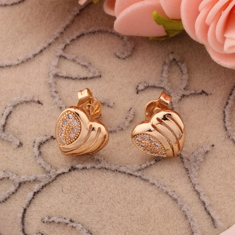 cheap arab for pin jewelry plated stud woman buy women dubai charms gold earrings