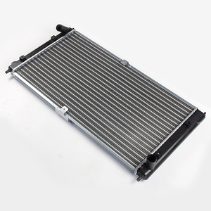 Anodized bimetal radiator for truck car water tank parts