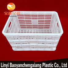 Agriculture Stackable Vented Rectangular Plastic Crate