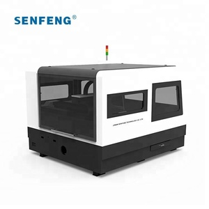 Senfeng fiber laser SF1313FL iron cutting machine price small size 1300*1300mm