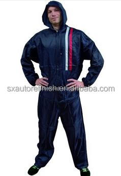 Nylon coverall with hood