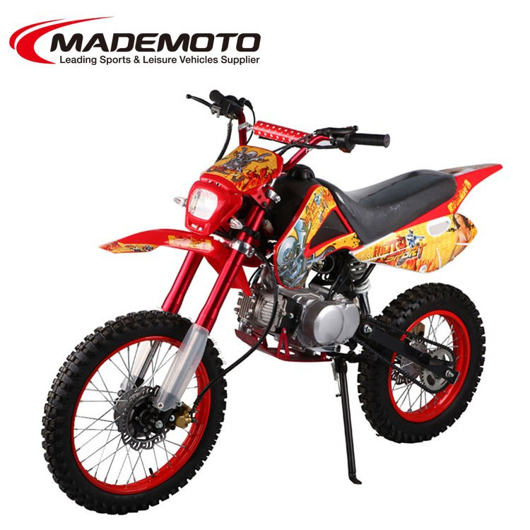 110cc 125cc Dirt Bike 4 Stroke Engine Type Mini Pocket Bike