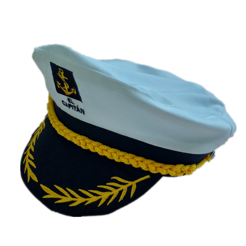 Factory Custom Carnival Cosplay Embroidery Navy Sailor Captain Hat - Buy  Captain Hat,Kids Captain Hats,Party Captain Hat Product on Alibaba com