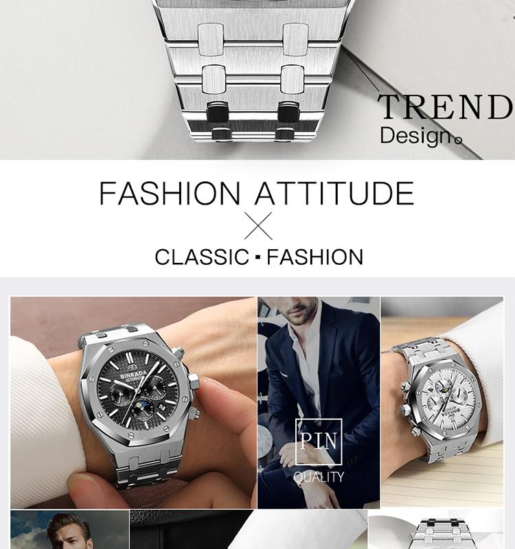2019 otomatik mekanik kol saati Çok Fonksiyonlu sıcak satış saatler erkekler lüks marka en popüler ürünler özel izle