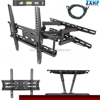 "TV Wall Mount for most 22""-55"" LED LCD Plasma Flat Screen Monitor up to 88 lb VESA 400x400 with Full Motion Swivel Articulating"
