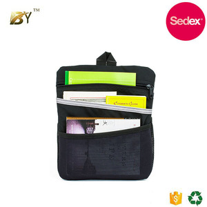 Sedex audit factory Promotional Travel Wallet Flight Organizer Bag cheap cotton jute storage bags