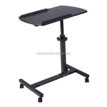 Height Adjustable , Movable ,desktop Roll Laptop Table