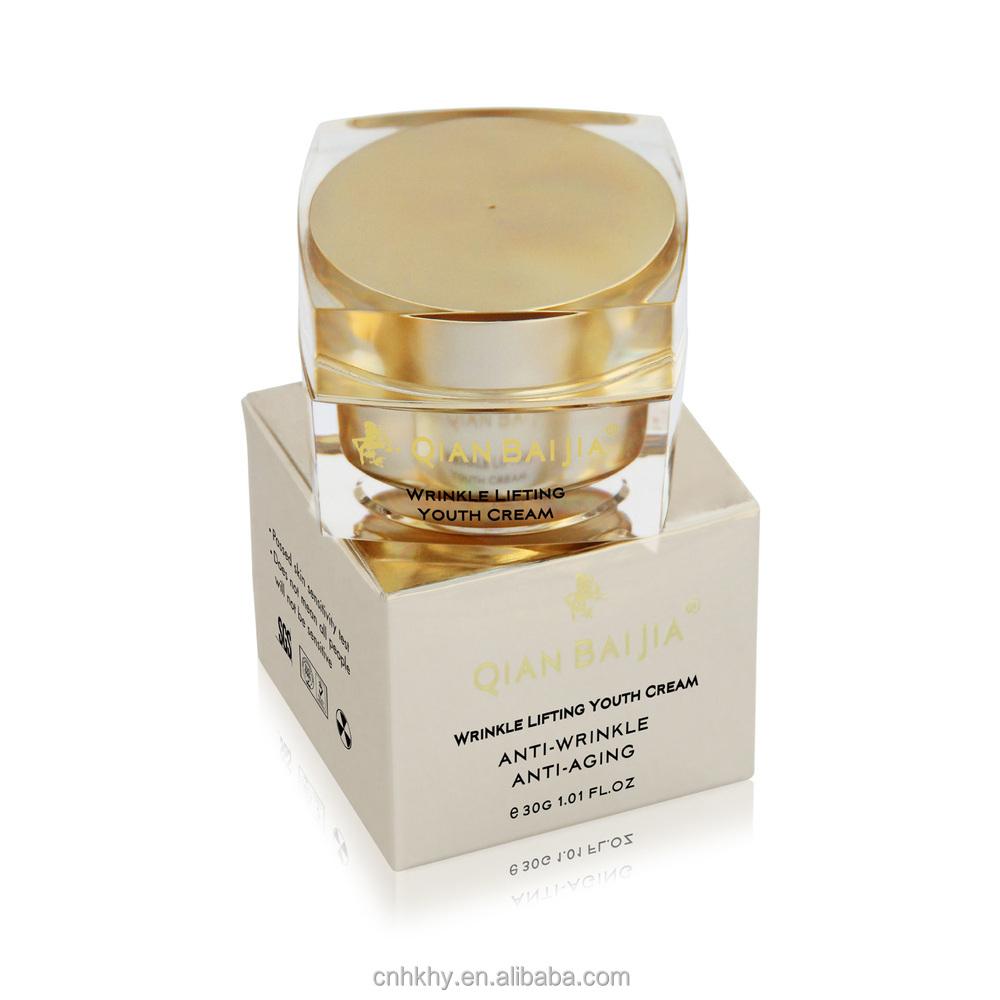 100% Natural Cosmetics Anti Aging Cream Herbal Beauty Shine Cream ...