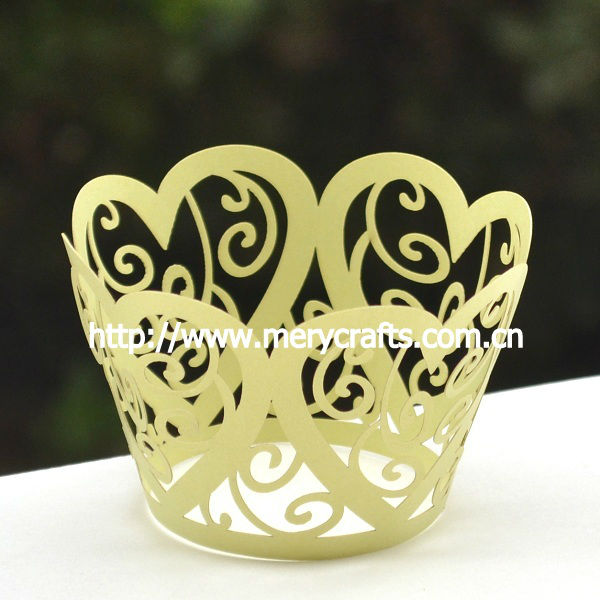 wonderful cake decoration laser cut cupcake wrappers wedding party event supplies
