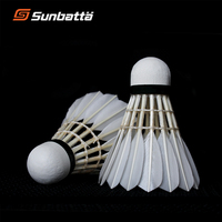 Sporting Goods High Quality Durable Shuttlecock Badminton from China Sunbatta