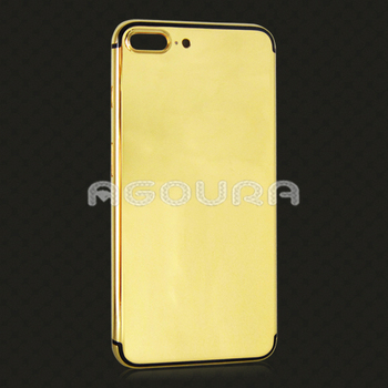 High Quality 24K Real Gold Phone Back Housing For IPhone 7 Plus