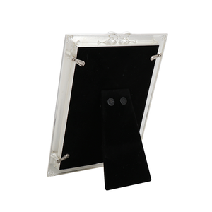 "Factory supplier epoxy chain metal picture photo frame 14.0*1.5*19.0 CM/6""X4""(Inch) photo picture frame alloy photo frame"
