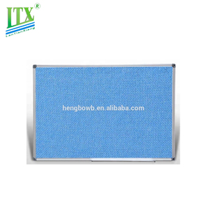 Good quality fabric display board with push pin board for office and school