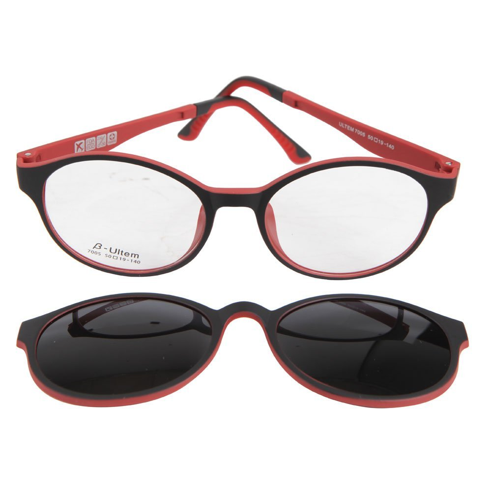 8154058281 Yodo Optical Frame with Magnetic Polarized Sunglasses for Women and Men  Driving