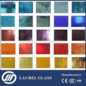 high quality decorative tiffany glass with our own factory