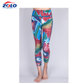 Custom One Size Fits All Sublimation Leggings