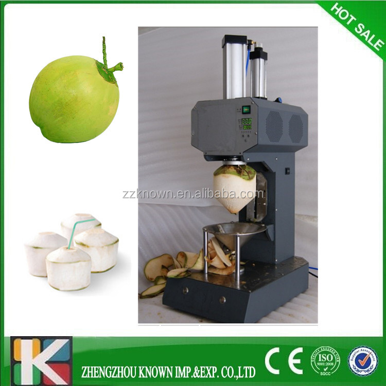 New Design Green Tender Coconut Trimming Machine With Good Price ...