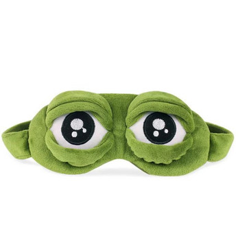 Sleep Mask for Girls Women Men Kids Funny Cute Contoured Blackout Frog Cat Dog Animal 3D Sleep Eye Mask for Sleeping