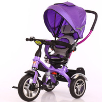 New arrival folding baby tricycle / cheap children tricycle rubber wheels / Kids Metal Tricycle for sale in philippines