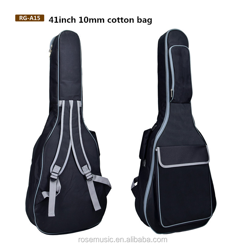 Musical instrument accessories custom logo  acoustic electric guitar strap gigi bag   40/41 inch