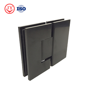 Australia and Canada popular style black color shower door hinges