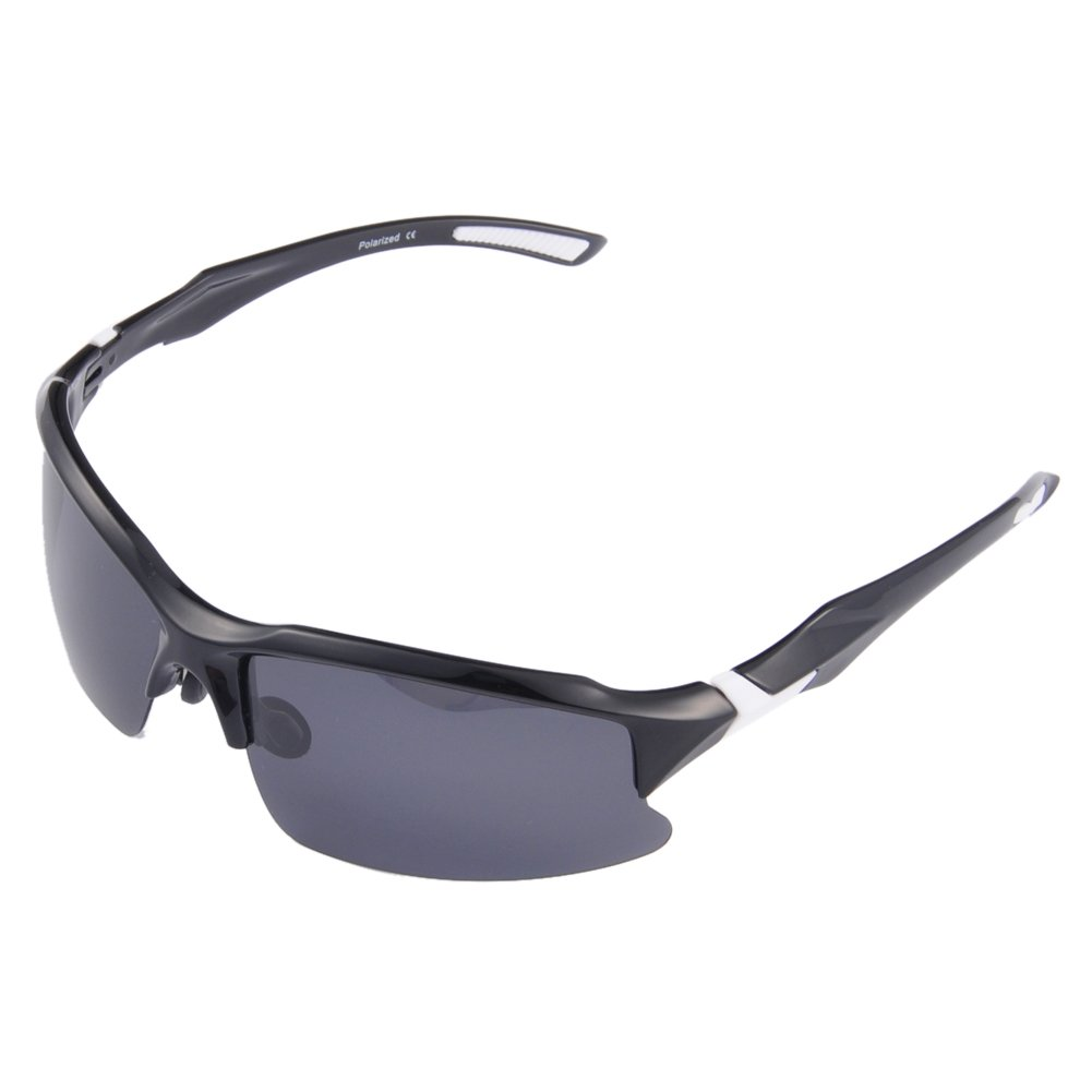2b91e1e414 Get Quotations · Br Guras Safety Sunglasses for Men with 400 UV Protection  Polarized Lens