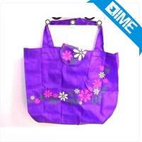 Cheap Custom Printed Luxury Retail Polyester Shopping Bag /Tote Bag