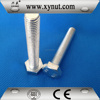 China Hebei Yongnian Factory cost price grade 4.8 grade 6.8 thru bolt with nut