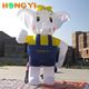Custom large inflatable cartoon character inflatable elephant Commercial advertising inflatable animal elephant model for sale