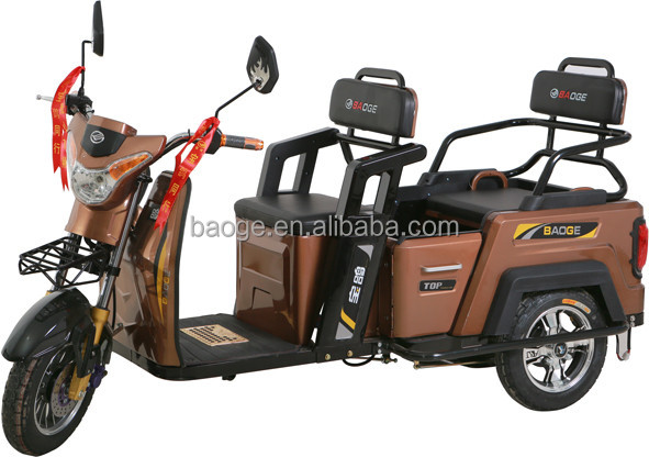 India electric tricycles with 3 wheels /electric rickshaws with passenger seat