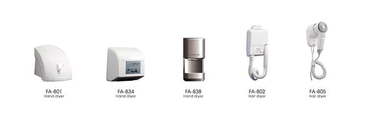 FAAO Hotel Automatic Hand Dryer for China Supplier