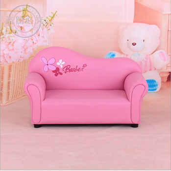 2016 New Style Children Sofa Small Cute Cartoon Barbie Sofa Kids Furniture