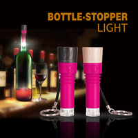 China Plastic Wine Bottle LED Light Closure Stoppers