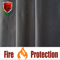 F&Z flame retardant acrylic and cotton blend knit fabric for used for petroleum and chemical workers wear