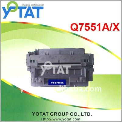 Laser Toner cartridge Q7551A Q7551X for HP toner cartridge