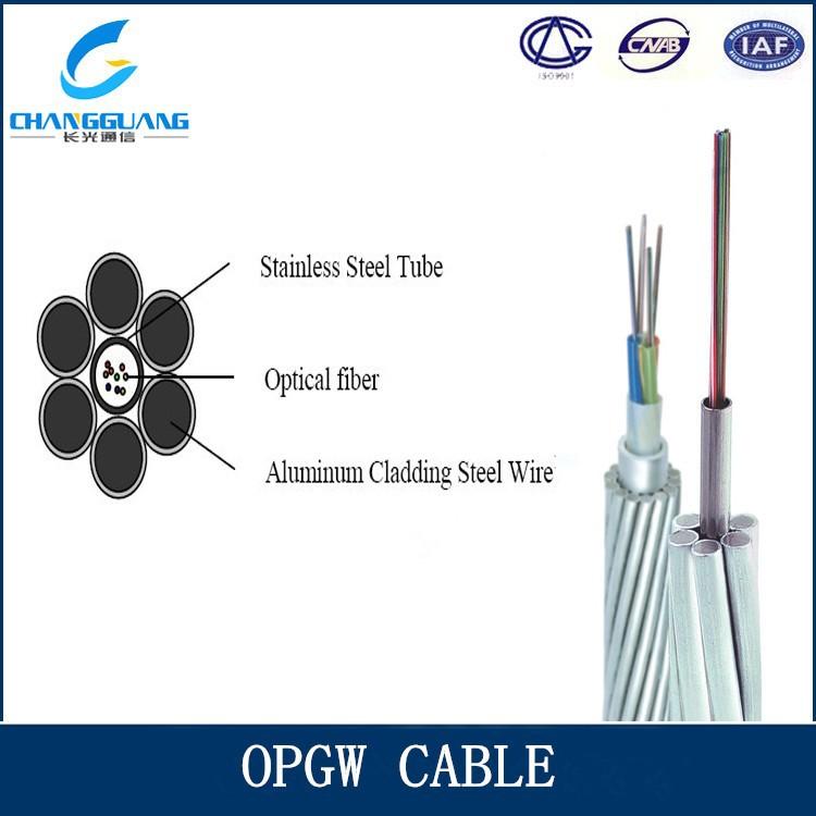 Opgw Cable,2 Core Fiber Optic Cable,24 Core Single Mode Fiber ...
