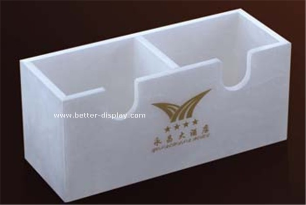 wholesale acrylic tea bag holder/tea bag storage box