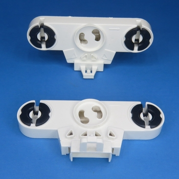 T8 G13 fluorescent lamp holder with starter base