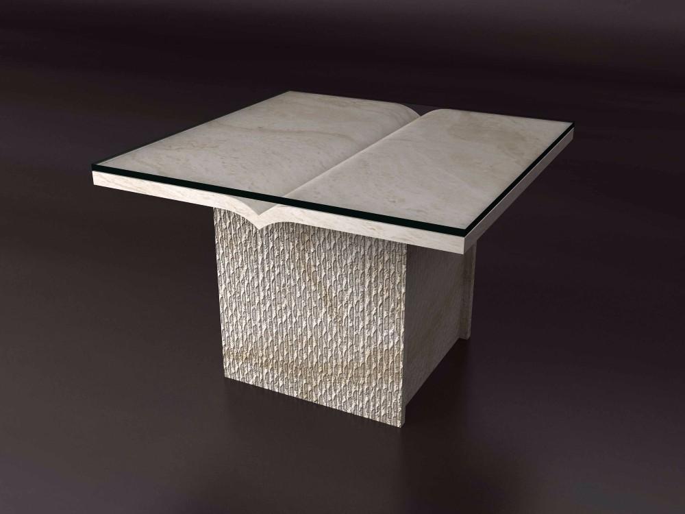 Travertin Wohnzimmer Tisch Stein Esstisch Mbel