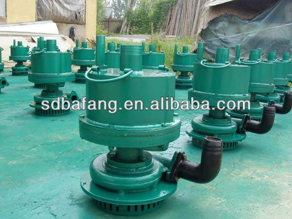 Type FQW open well submersible water pumps