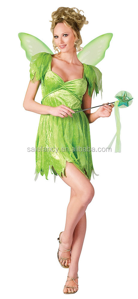latest design uk cheap sale delicate colors Plus Size Neverland Tinkerbell Fairy Costume Fancy Dress Costume Qawc-2272  - Buy Tinkerbell Costume,Fairy Costume,Tinkerbell Dress Product on ...